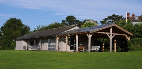 Photograph of the Pavilion, Hearn Field, Combeinteignhead