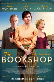 Poster promoting Thr Bookshop